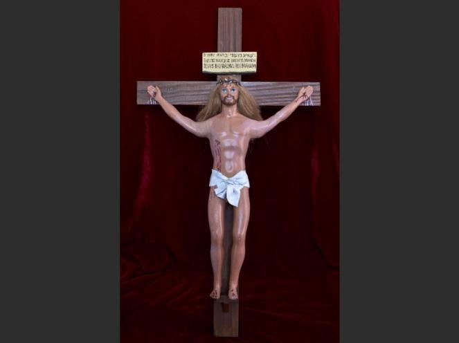 ARGENTINA-ART-BARBIE-RELIGION