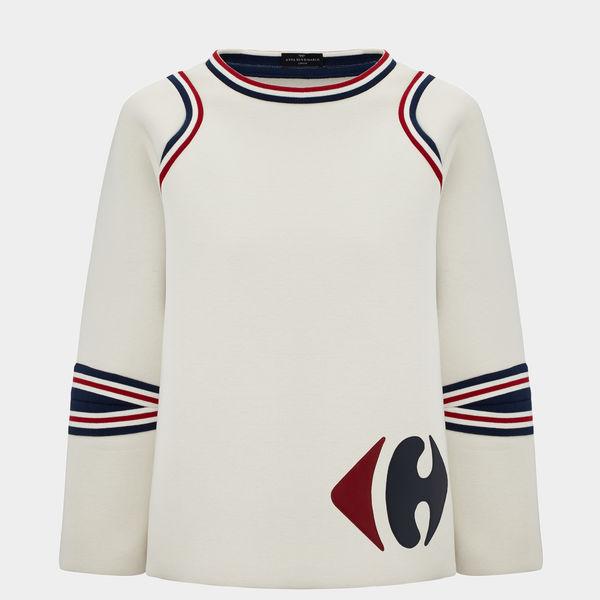 Sweatshirt-Carrefour-Small-Logo-in-ChalkNavyVampire-JerseyNeoprene1
